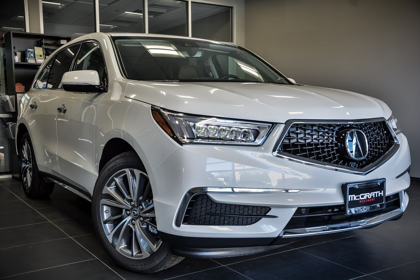 new 2017 acura mdx sh awd with technology package sport utility in westmont u5809 mcgrath. Black Bedroom Furniture Sets. Home Design Ideas